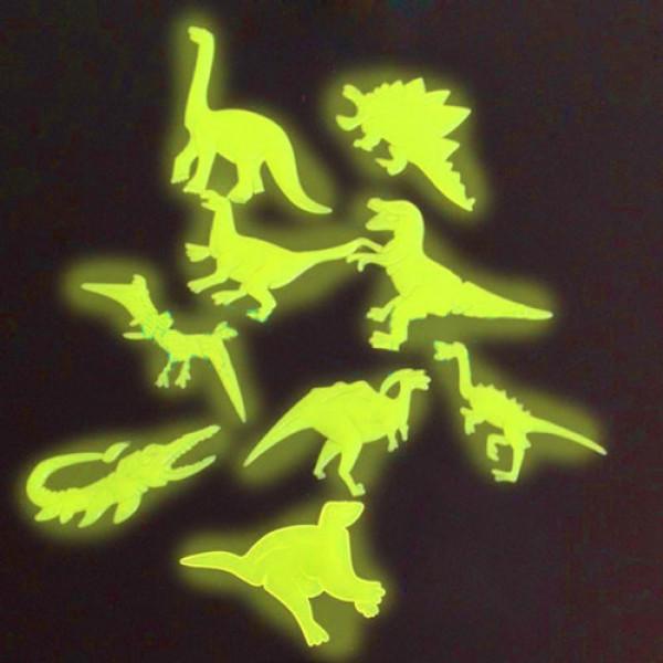 Inredning Självlysande Dinosaurier från Inget märke