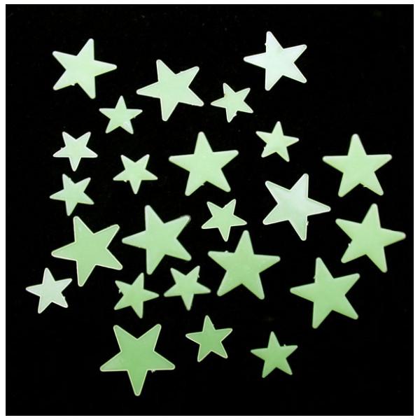 Inredning Stjärnor Som Lyser I Mörket från Inget märke