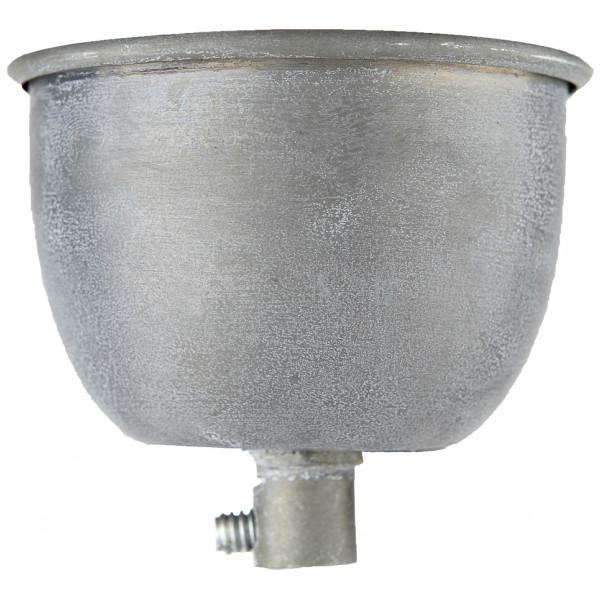 Inredning Takkåpa Lampkåpa Metall 7 8 Cm Zink Hubsch från Inget märke
