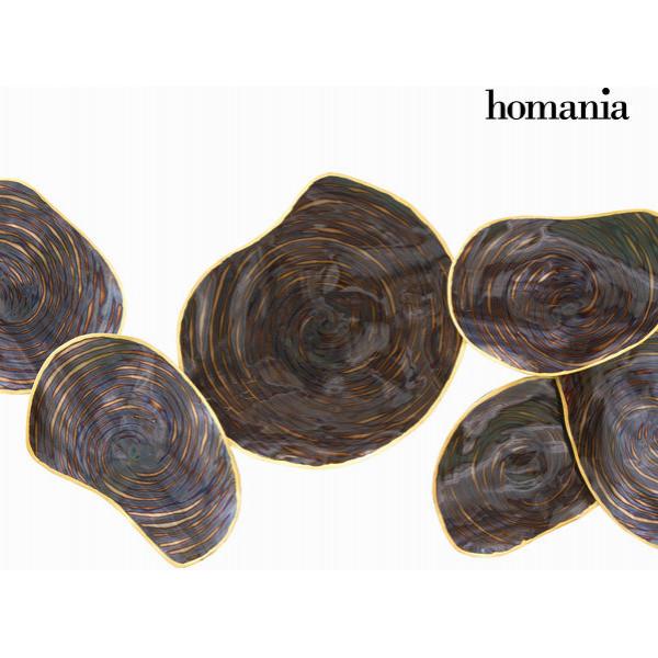 Inredning Väggdekoration Metallöv By Homania från Inget märke