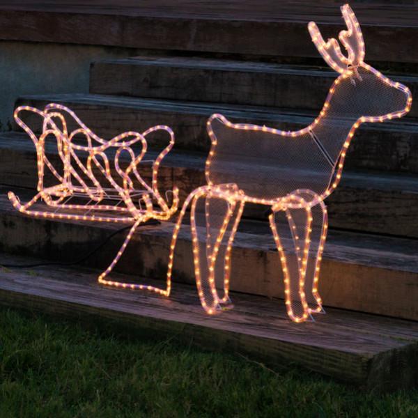 Jul - Ren Med Släde 504 Led från Inget märke