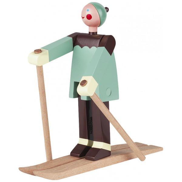 Kay Bojesen Figurin Skidåkare Boje från Kay bojesen
