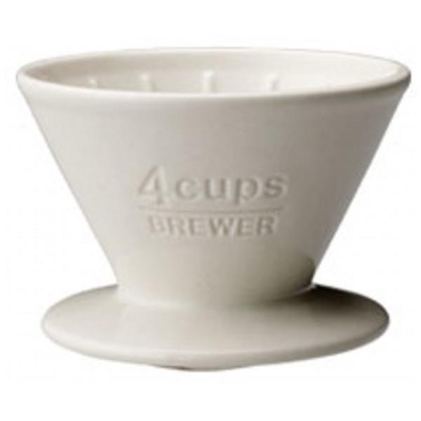 Kinto Kaffebryggare Scs-04-Br Brewer 4Cups White från Kinto