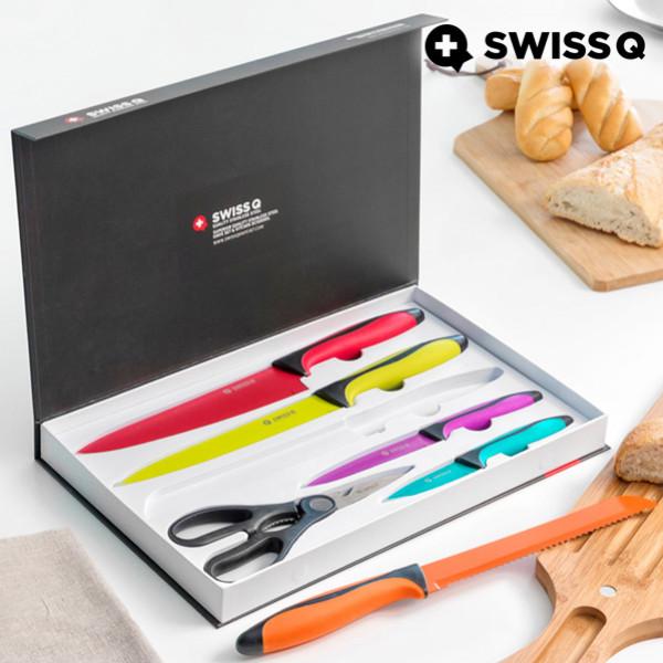 Kniv Knivar I Rostfritt Stål Swiss Q High Quality 6 Delar från Inget märke