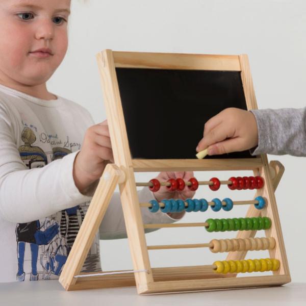 Kulram Med Dubbelsidig Tavla För Barn - Returex från Inget märke