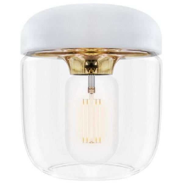 Lampa Acorn White Brass Vita från Inget märke