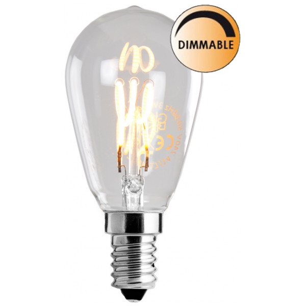 Led Glödlampa L201 Smal Sockel Globen Lightning från Inget märke