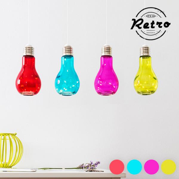 Led Lampa Retro Glödlampa Färg från Inget märke