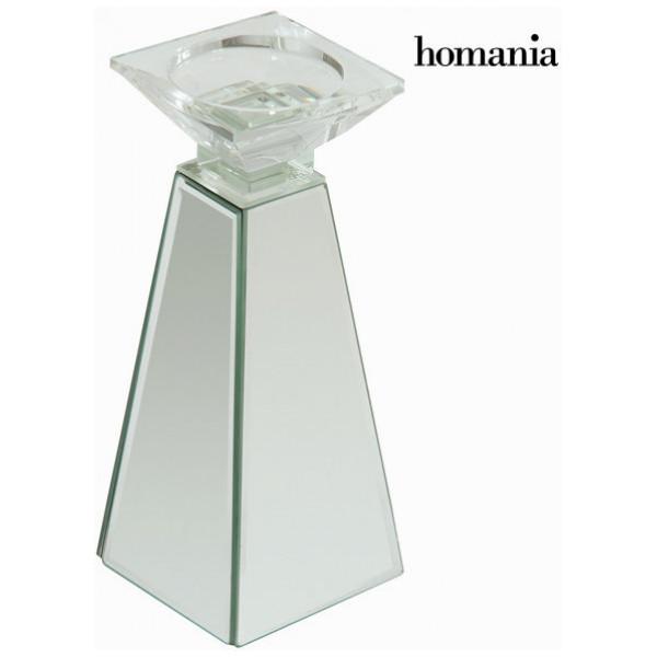 Ljusstake Med Spegelglas By Homania från Inget märke