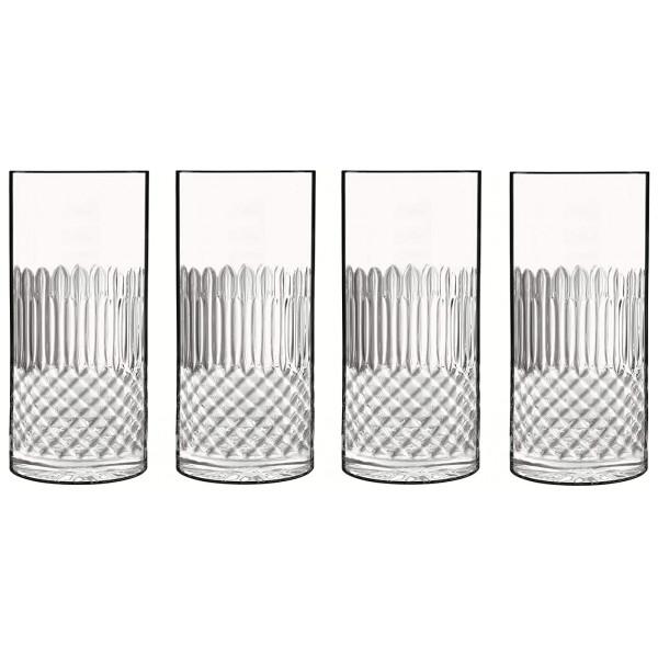 Luigi Bormioli Ölglas Diamante Longdrinkglas 4 St 48Cl från Luigi bormioli