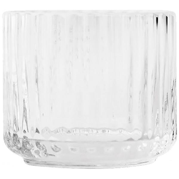 Lyngby Porcelain Ljuslykta Liten Glas Klar från Lyngby porcelain