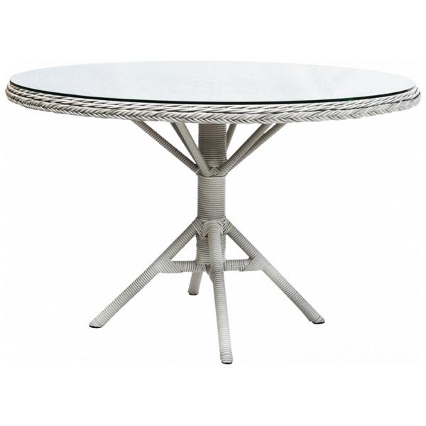 Matbord Grace Matbord M Glastopp Vintage White Sika - Design från Inget märke