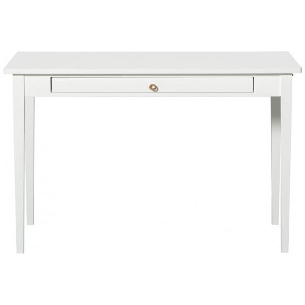 Matbord Litet Bord Med Läderstroppar Oliver Furniture från Inget märke