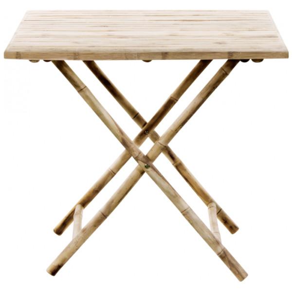 Matbord Tine K Bambu Fällbart Matbord 80 X Cm från Inget märke