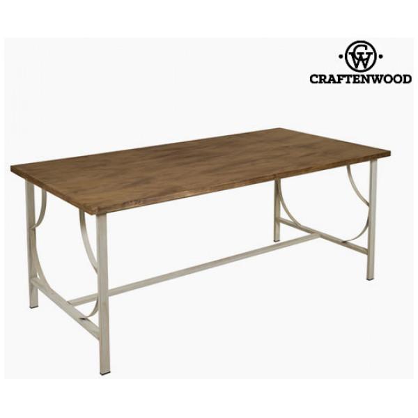 Matsalsbord Trä Smide - Serious Line Samling By Craftenwood från Inget märke