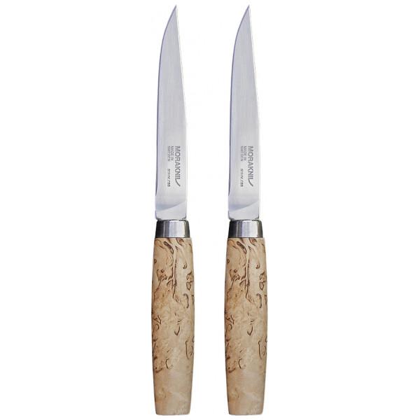 Morakniv Grillbestick Steak Knife Masur Stekkniv 22,6 Cm 2-Pack från Morakniv