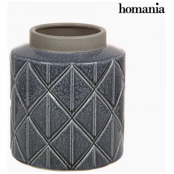 Mörk Keramikvas By Homania från Inget märke
