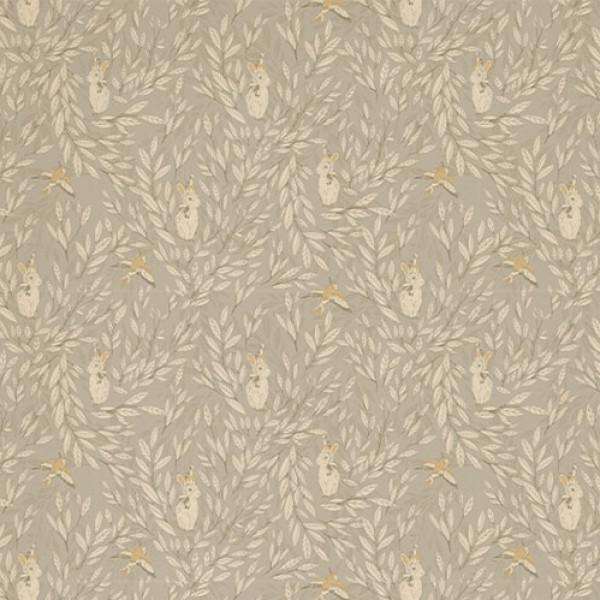 Mrs Mighetto Tapet Misty Leaf Fauna Grey från Inget märke