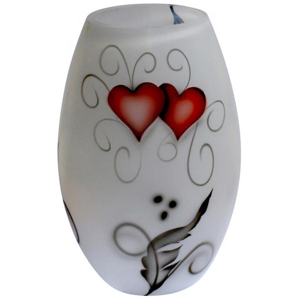 Nybro Crystal Ink Vas 20 Cm Heart från Nybro crystal