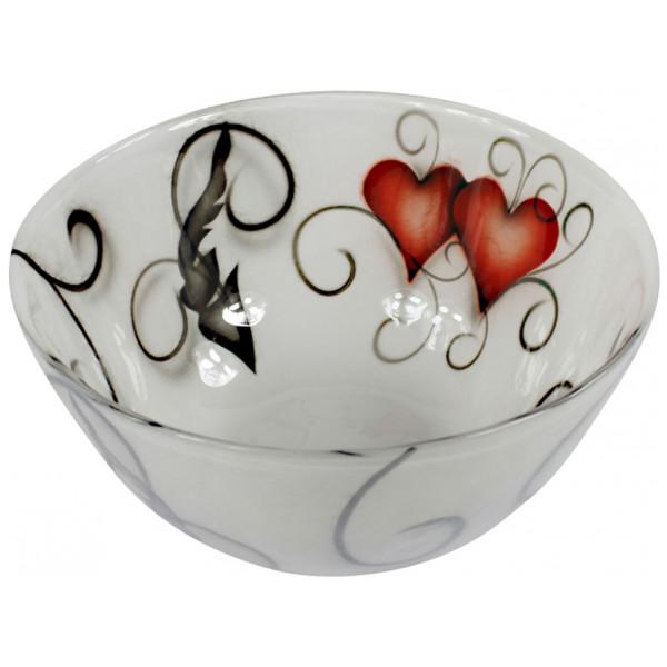 Nybro Crystal Skål Ink 25 Cm Heart från Nybro crystal