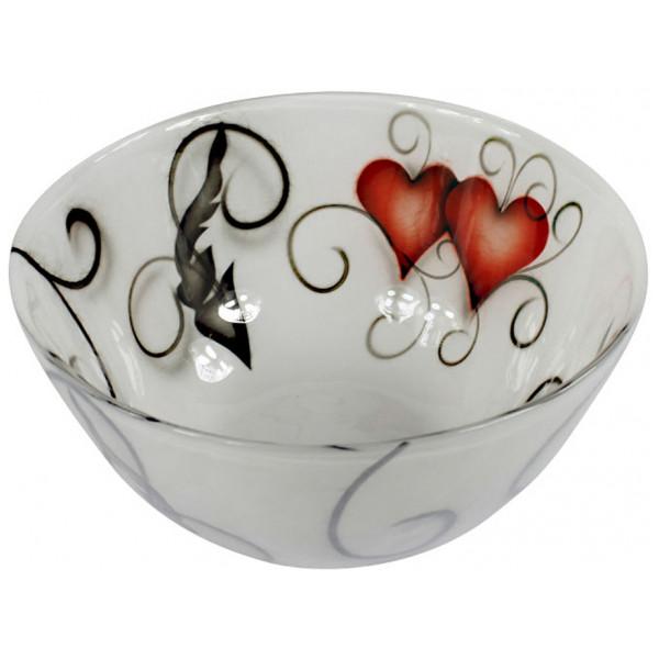 Nybro Crystal Skål Ink Heart 21 Cm från Nybro crystal