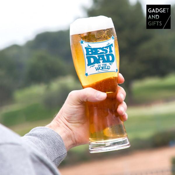 Ölglas Best Dad Gadget And Gifts från Inget märke