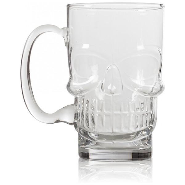 Ölglas Dödskalle från Inget märke