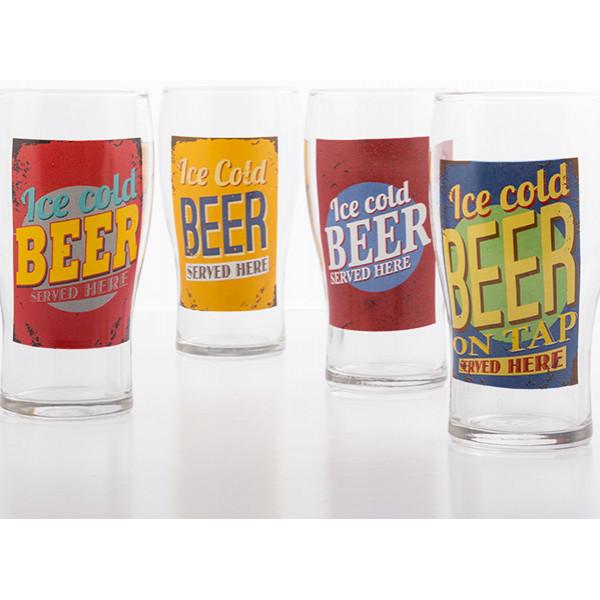 Ölglas Ice Cold från Inget märke
