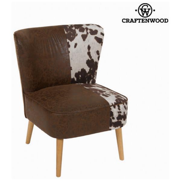 Öronlappsfåtölj Cow By Craftenwood från Inget märke