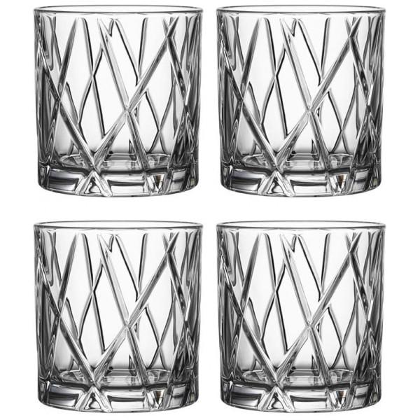 Orrefors Whiskyglas City Old Fashioned 34 Cl 4-Pack från Orrefors