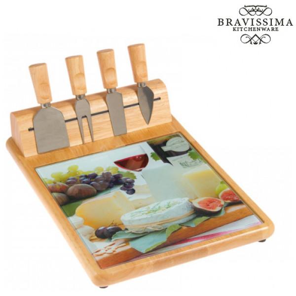 Ostbricka Med Ostkniv By Bravissima Kitchen från Inget märke