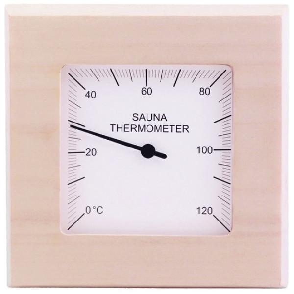 Övriga Bastuprodukt Bastutermometer Kvadrat Asp från Övriga