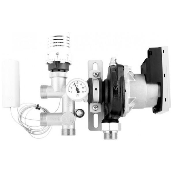 Övriga Golvvärmeprodukt Shunt Fs 36 Mini Förnicklad Komplett Med Reglering från Övriga