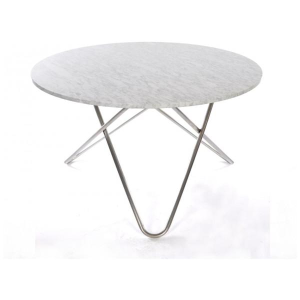 Ox Denmarq Big O Table Matbord CarraraRostfritt Stål från Ox denmarq