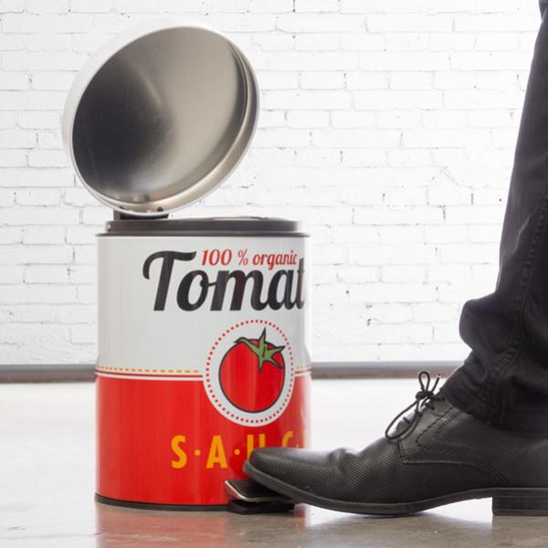 Pedalhink I Metall Tomatburk från Inget märke