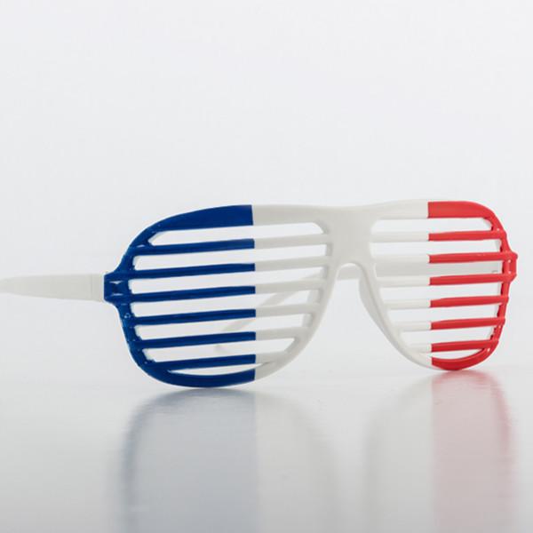 Persiennglasögon Med Fransk Flagga från Inget märke