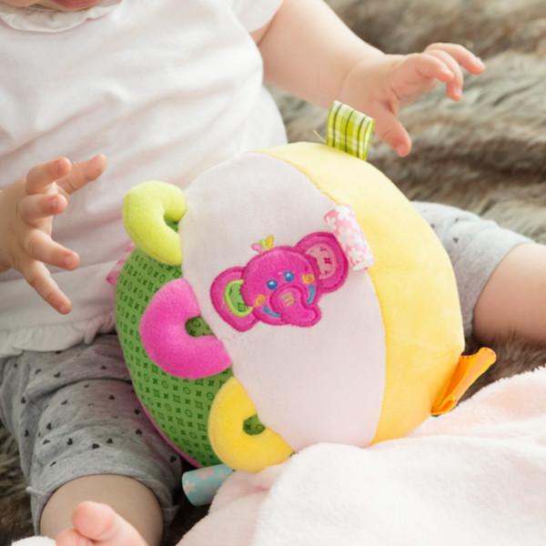 Plyschboll Med Filt För Bebisar Färg från Inget märke