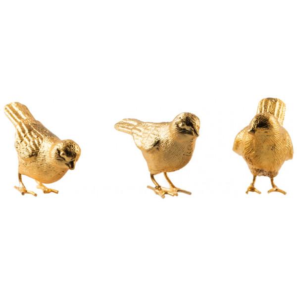 Pols Potten Figurin Sparrows Fåglar 3-Pack från Pols potten