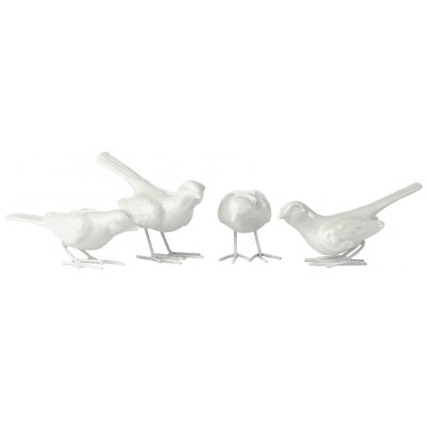 Pols Potten Figurin Starling Fåglar 4-Pack från Pols potten