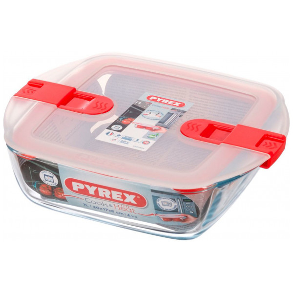 Pyrex Ugnsform Cook And Heat Med Lock 1 L från Pyrex