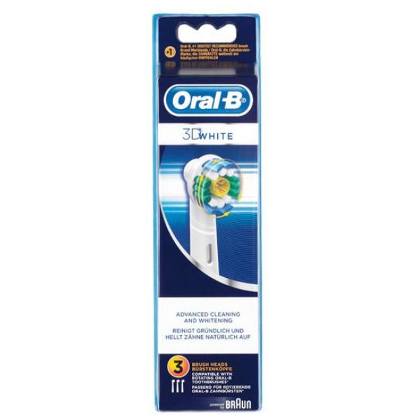 Reservdel Till Eltandborste Oral - B 3D White från Inget märke