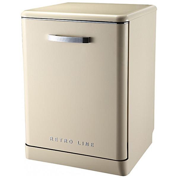 Retro Line Diskmaskin Retrostil Färg Cream från Retro line