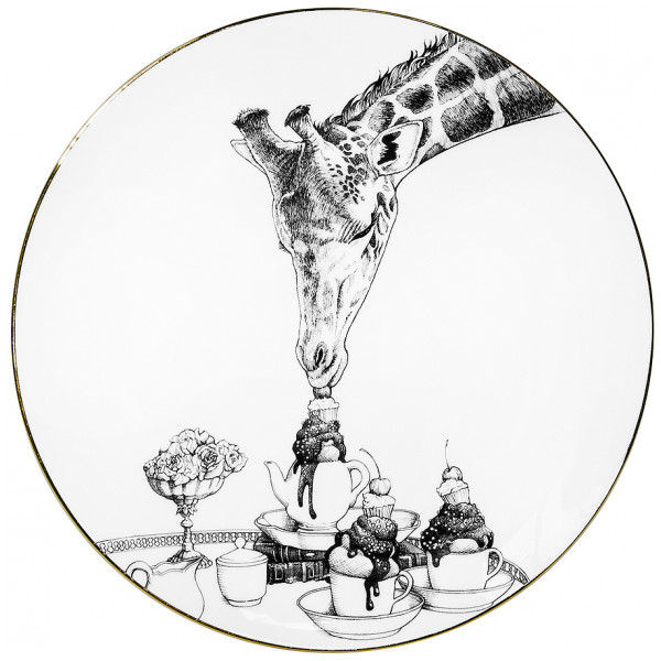 Rory Dobner Inredning Perfect Plate Geraldine Giraffe 21 Cm från Rory dobner