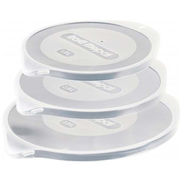 Rosti Mepal Bakningsprodukt Margrethe Lock 3-Pack Till Skålar 1,5+2+3 L från Rosti mepal