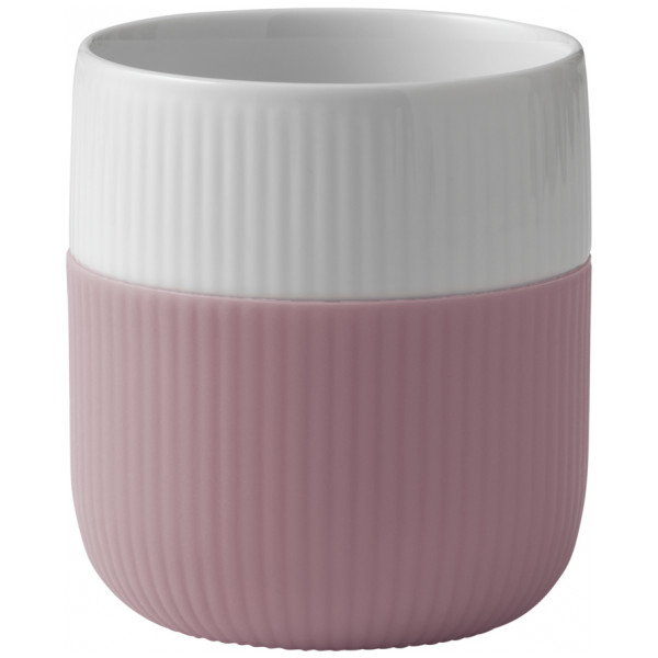 Royal Copenhagen Mugg Fluted Contrast 33 Cl Ros från Royal copenhagen