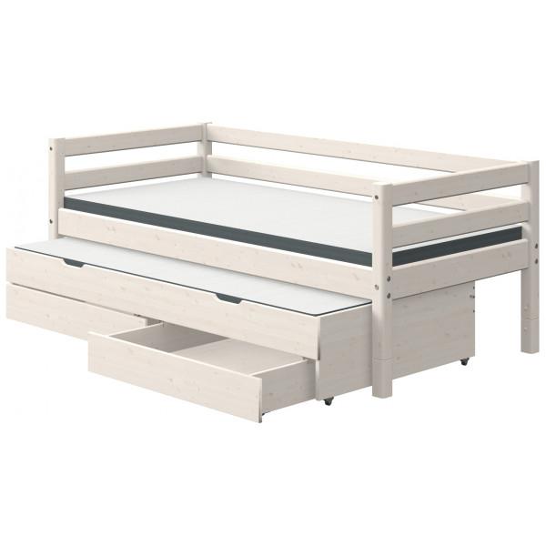 Säng 90 X 200 Cm Sänglådor Utdragssäng Flexa Classic från Inget märke