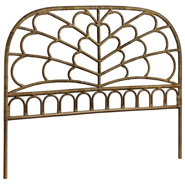 Sänggavel Rotting Celia 180 Cm Antik Sika - Design från Inget märke