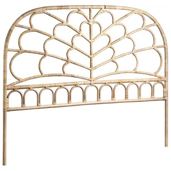 Sänggavel Rotting Celia 180 Cm Nature Sika - Design från Inget märke