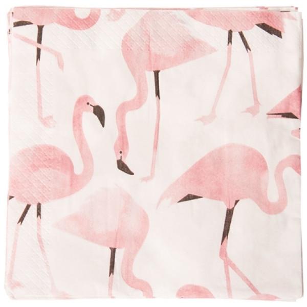 Servett Flamingle från Inget märke