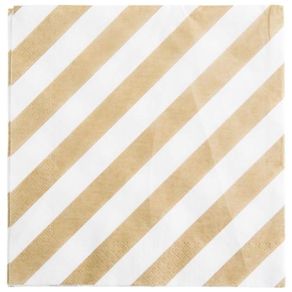 Servett Stripe från Inget märke